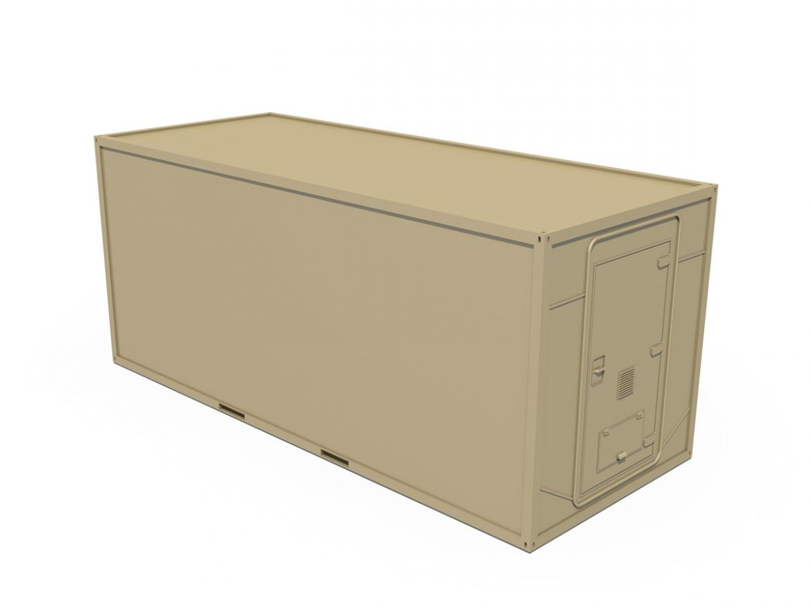20ft Office Container Version 2 ( 104.36KB jpg by Panaristi )