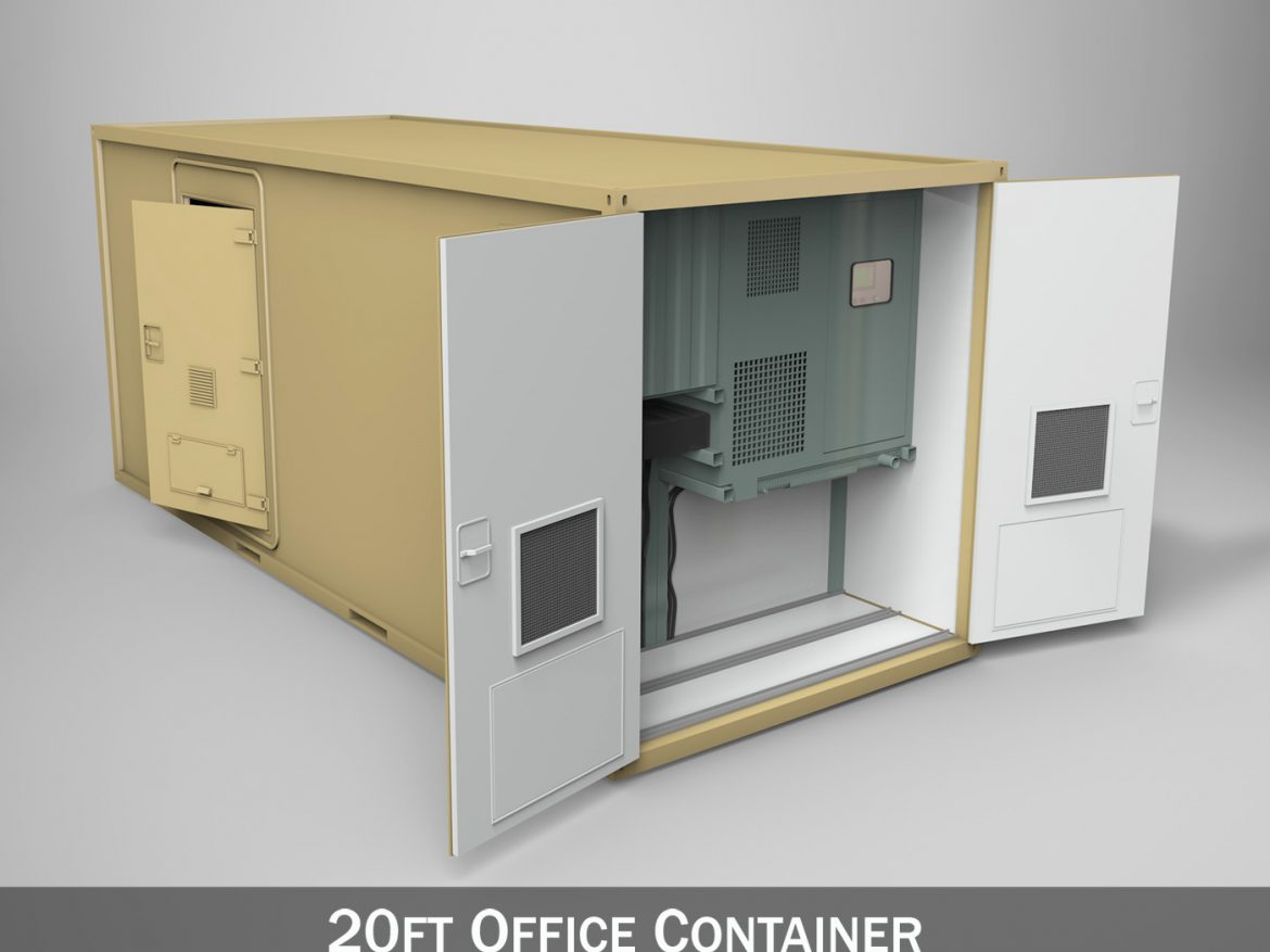 20ft Office Container Version 3 ( 209.2KB jpg by Panaristi )