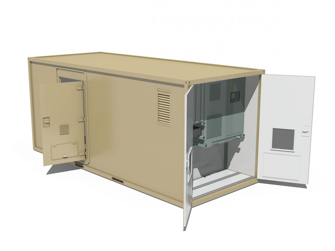 20ft Office Container Version 3 ( 132.3KB jpg by Panaristi )