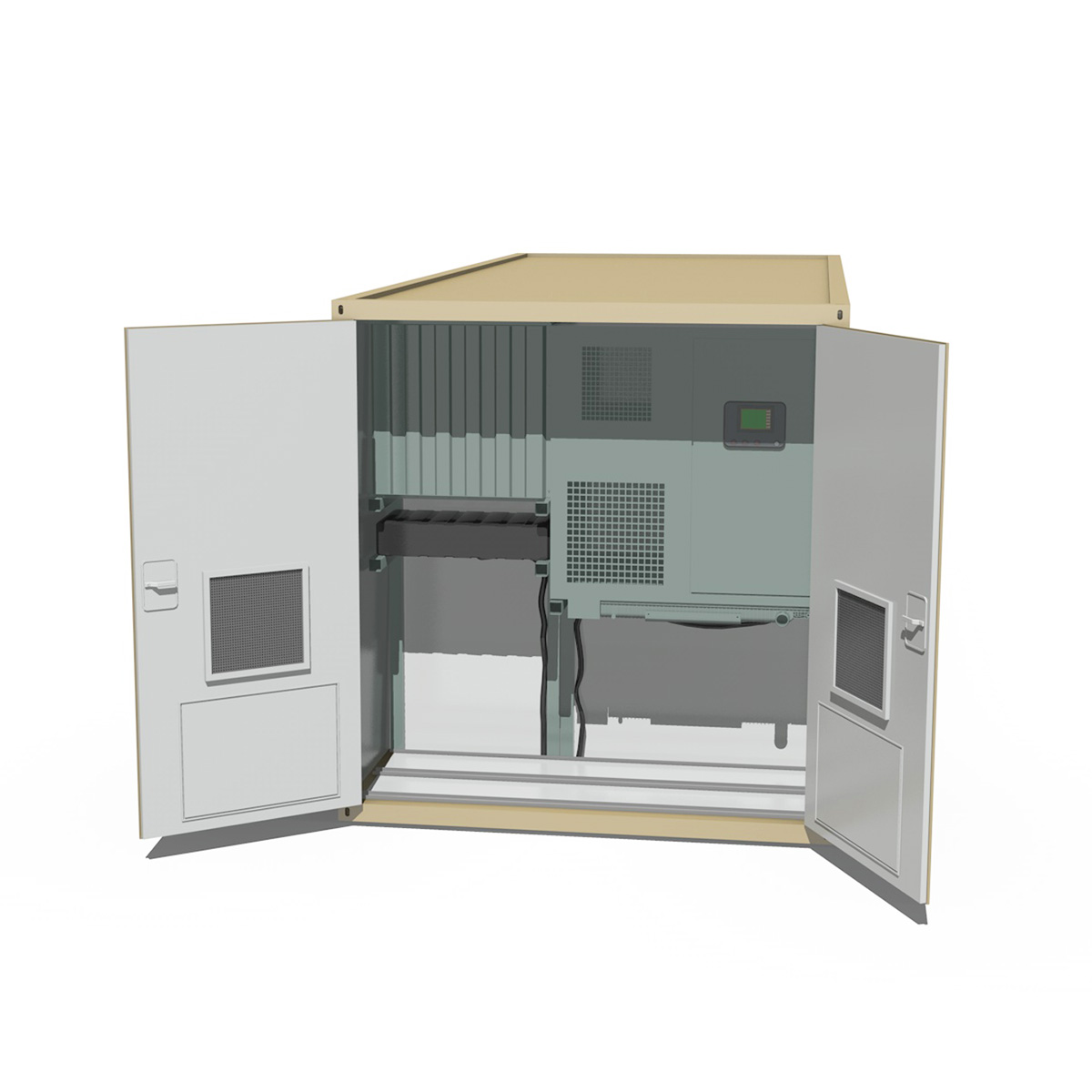 20ft office container version three 3d model 3ds fbx c4d lwo obj 252284