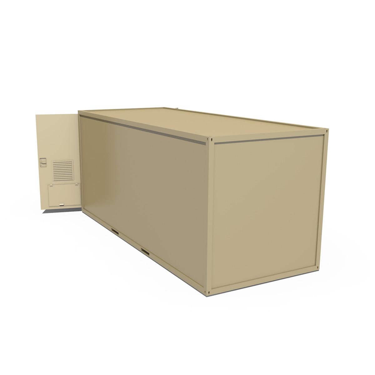 20ft office container version three 3d model 3ds fbx c4d lwo obj 252286