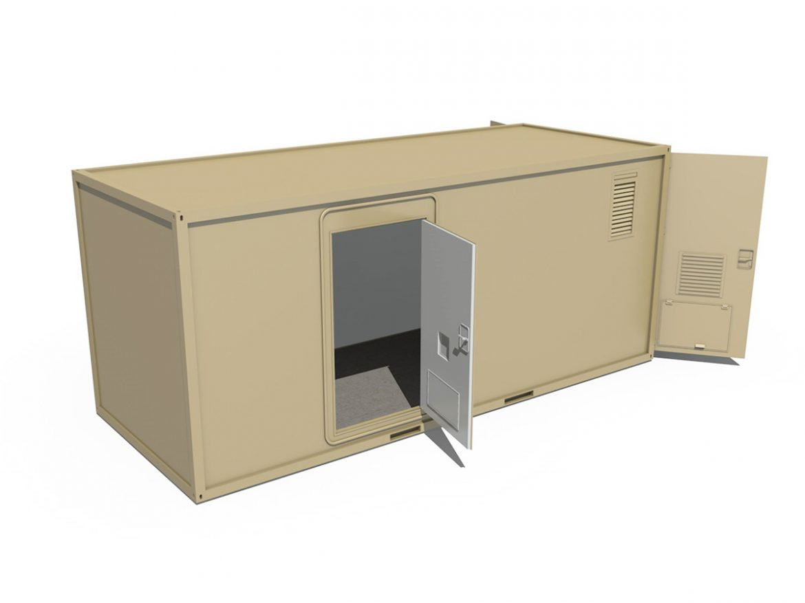20ft Office Container Version 3 ( 114.95KB jpg by Panaristi )