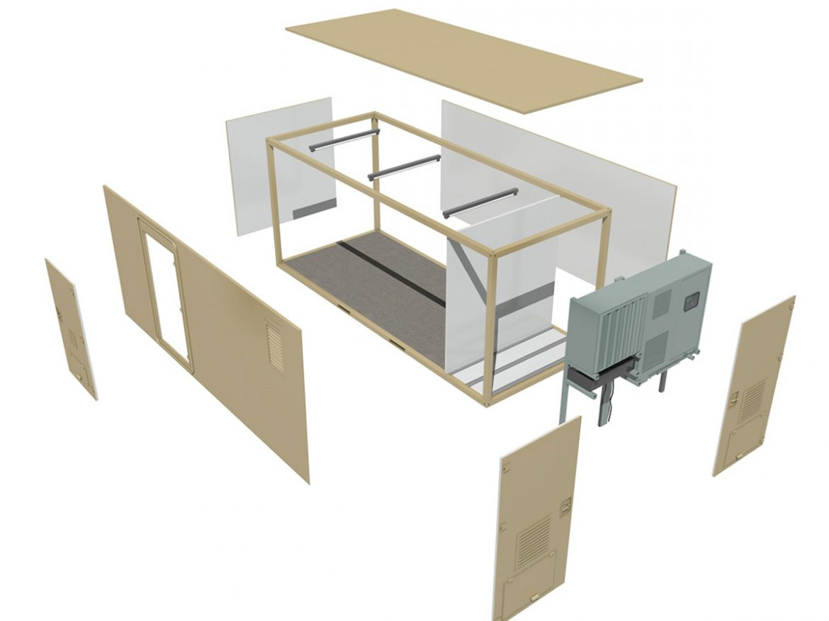 20ft Office Container Version 3 ( 145.15KB jpg by Panaristi )