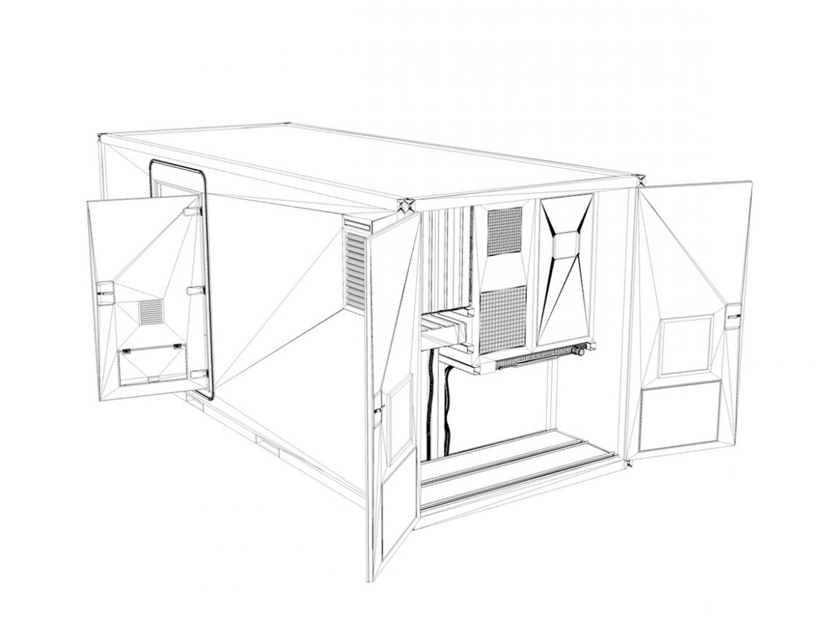 20ft Office Container Version 3 ( 153.15KB jpg by Panaristi )