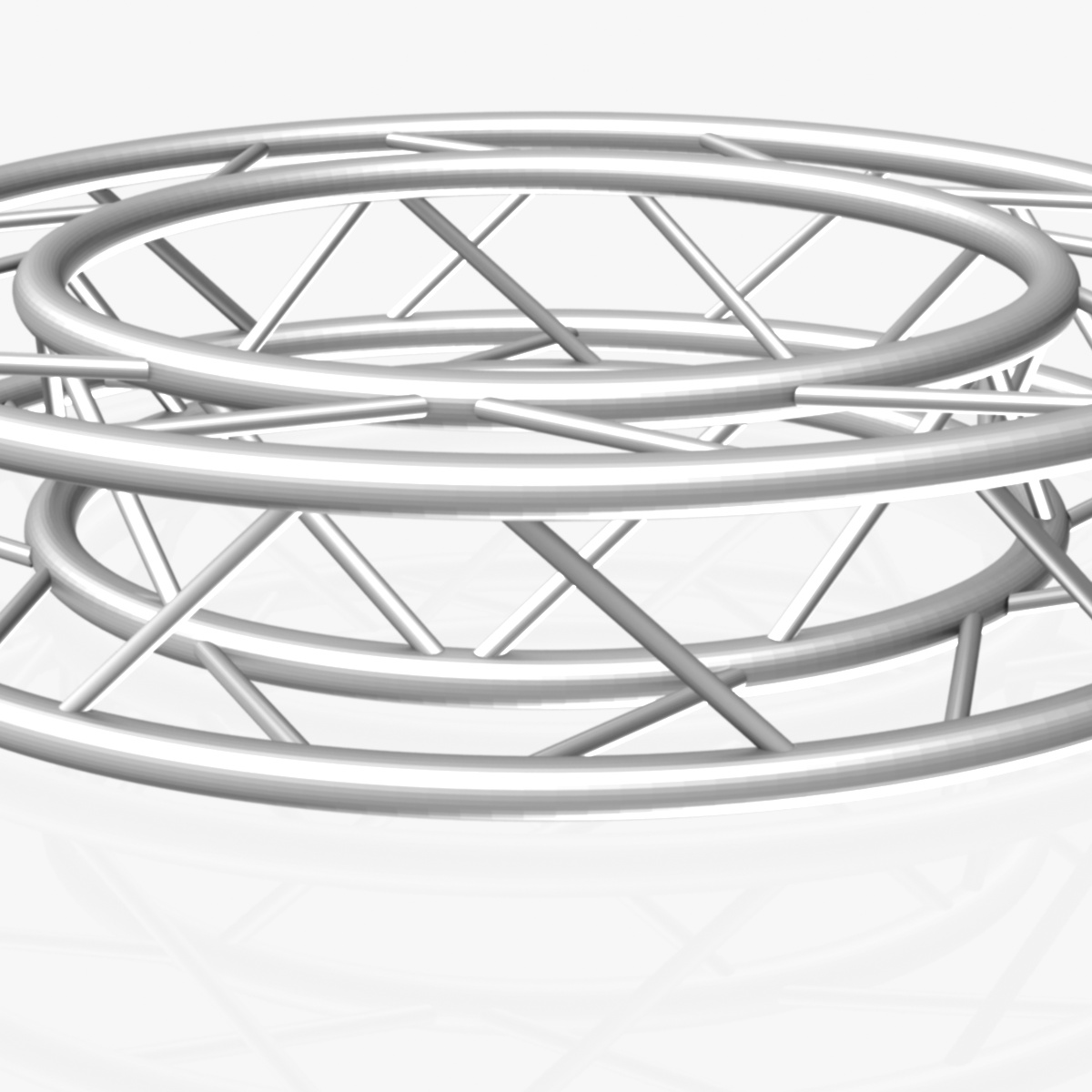 circle square truss full diameter 150cm 3d model 3ds max fbx c4d dae  obj 252295