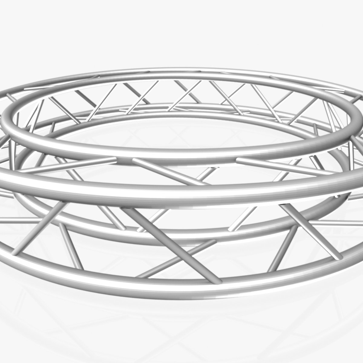 дугуй дөрвөлжин Дотоод (бүрэн диаметр 200cm) 3d загвар 3ds max dxf fbx c4d dae obj 252358
