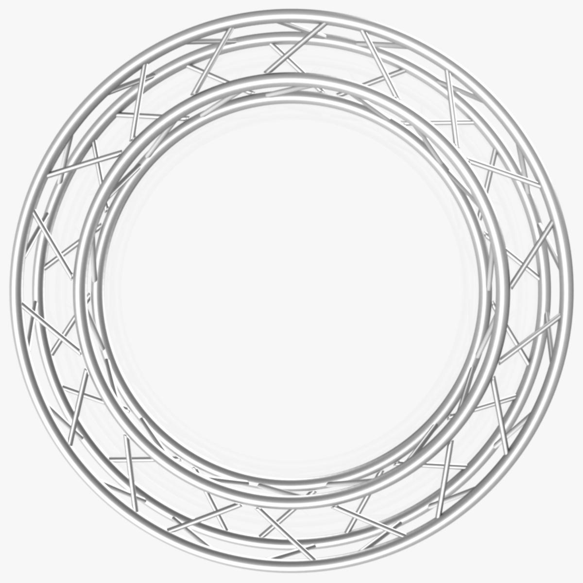 дугуй дөрвөлжин Дотоод (бүрэн диаметр 200cm) 3d загвар 3ds max dxf fbx c4d dae obj 252359