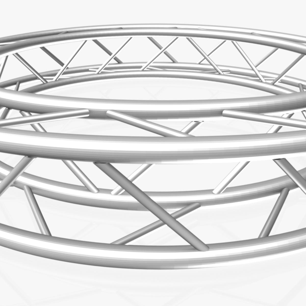 дугуй дөрвөлжин Дотоод (бүрэн диаметр 200cm) 3d загвар 3ds max dxf fbx c4d dae obj 252360