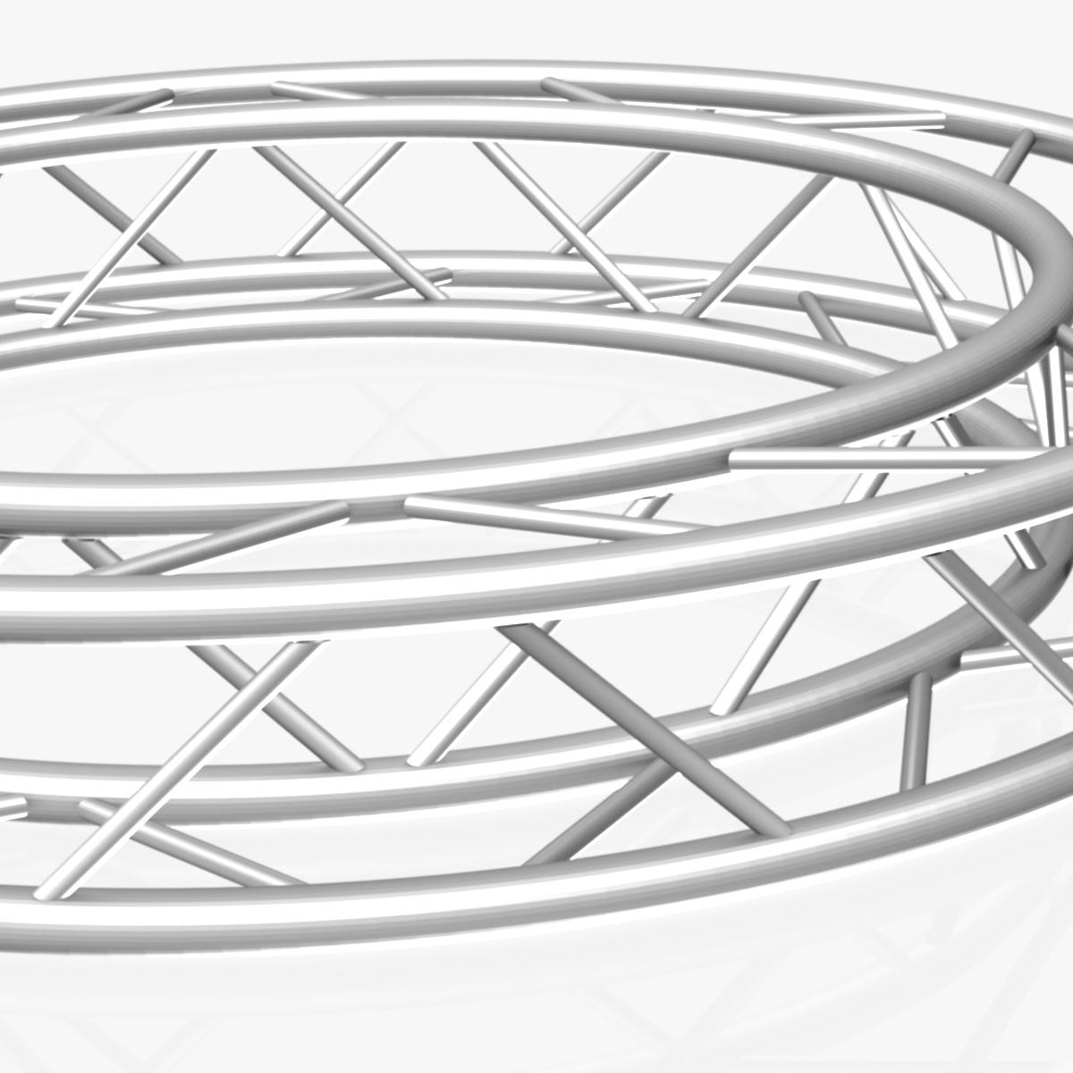 дугуй дөрвөлжин Дотоод (бүрэн диаметр 200cm) 3d загвар 3ds max dxf fbx c4d dae obj 252361