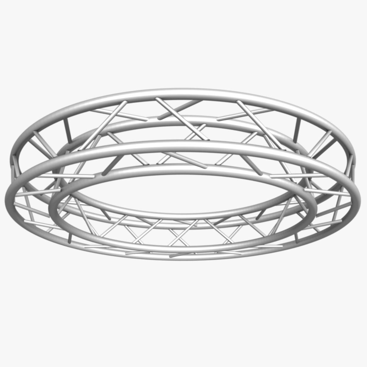 дугуй дөрвөлжин Дотоод (бүрэн диаметр 200cm) 3d загвар 3ds max dxf fbx c4d dae obj 252362