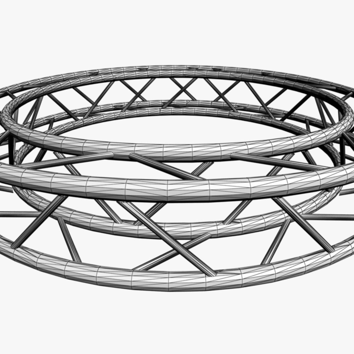 дугуй дөрвөлжин Дотоод (бүрэн диаметр 200cm) 3d загвар 3ds max dxf fbx c4d dae obj 252368
