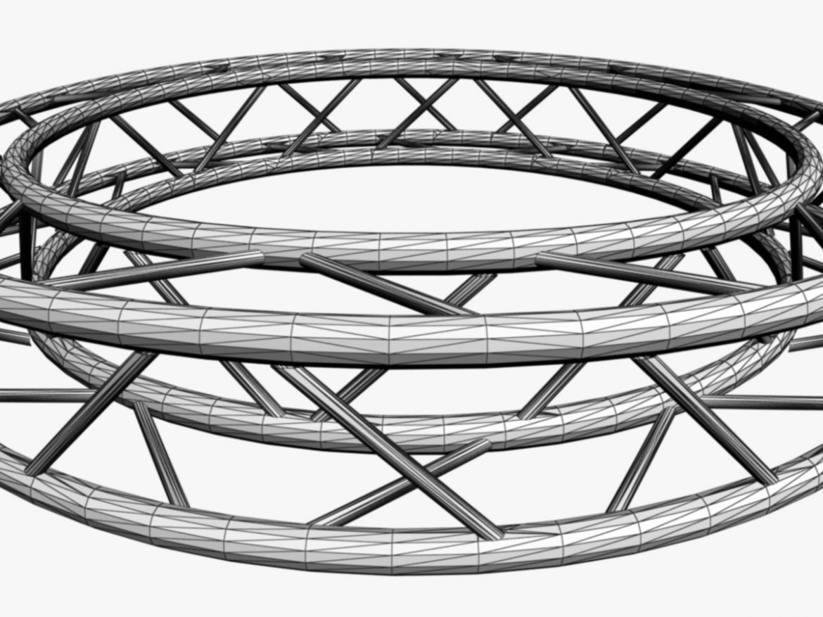 Circle Square Truss (Full diameter 200cm)  ( 262.66KB jpg by akeryilmaz )