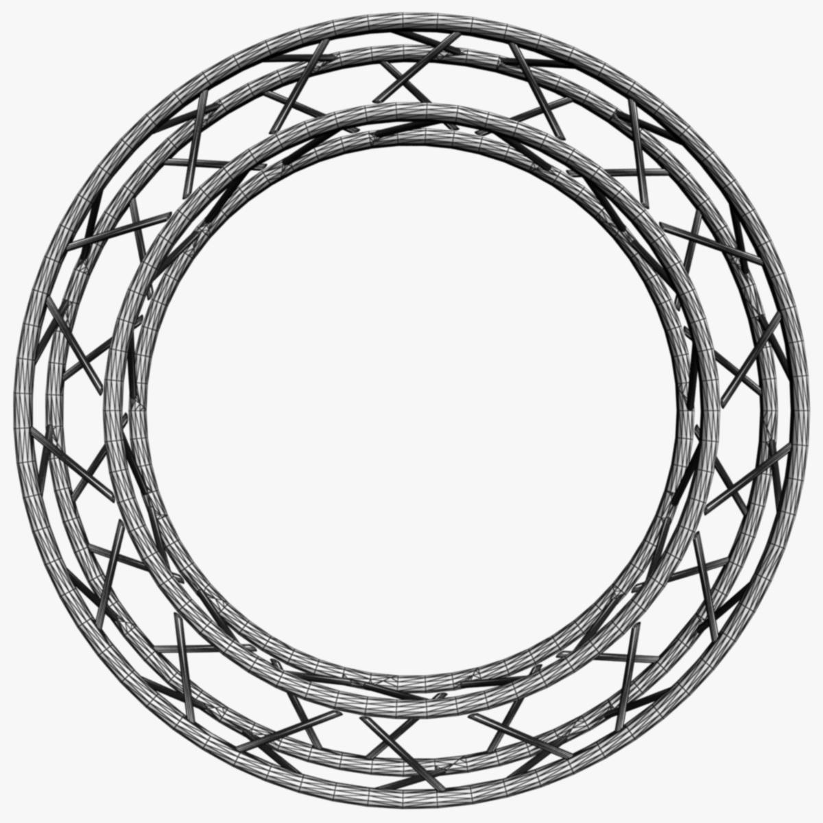 дугуй дөрвөлжин Дотоод (бүрэн диаметр 200cm) 3d загвар 3ds max dxf fbx c4d dae obj 252369