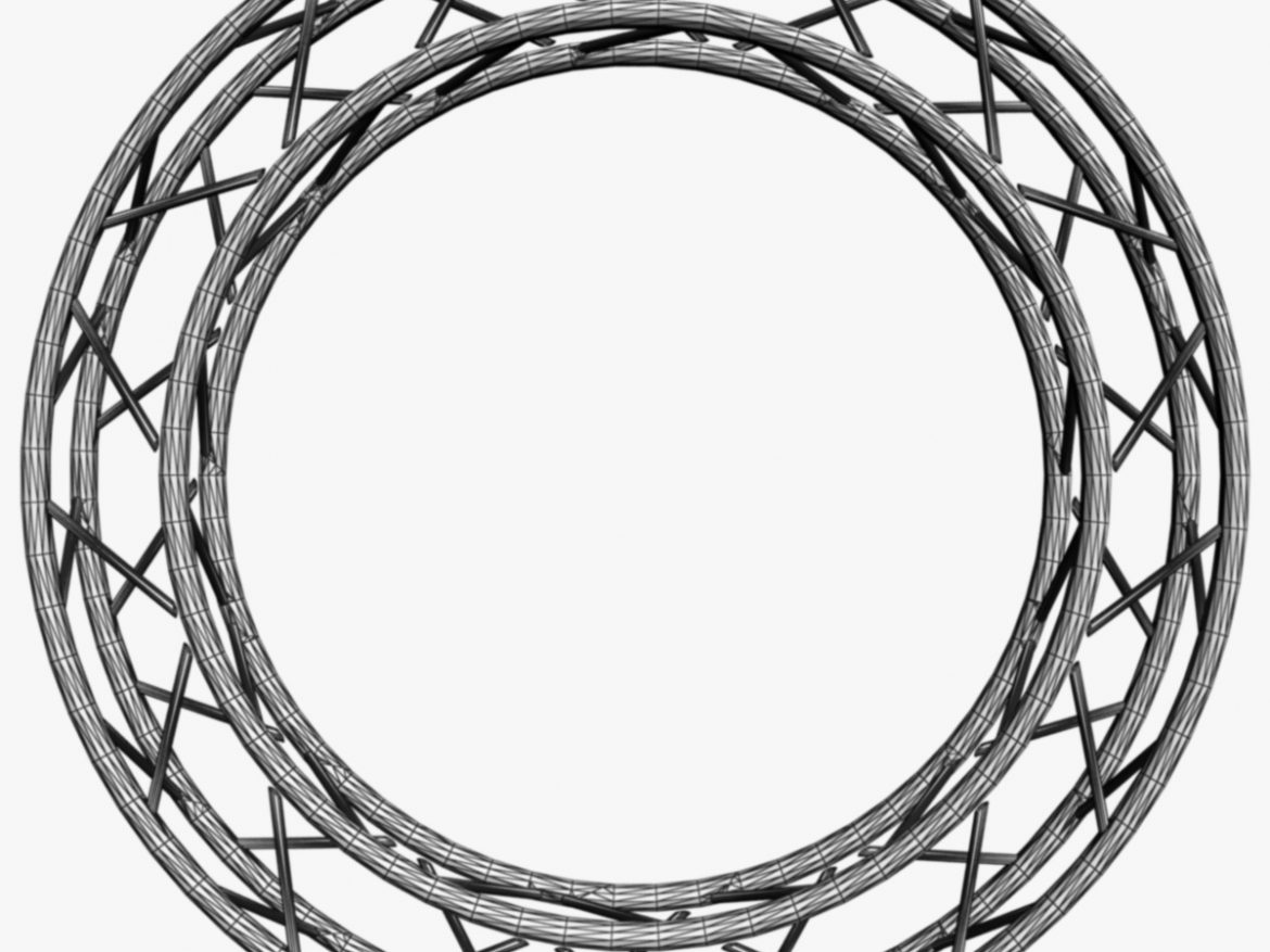 Circle Square Truss (Full diameter 200cm)  ( 255.05KB jpg by akeryilmaz )
