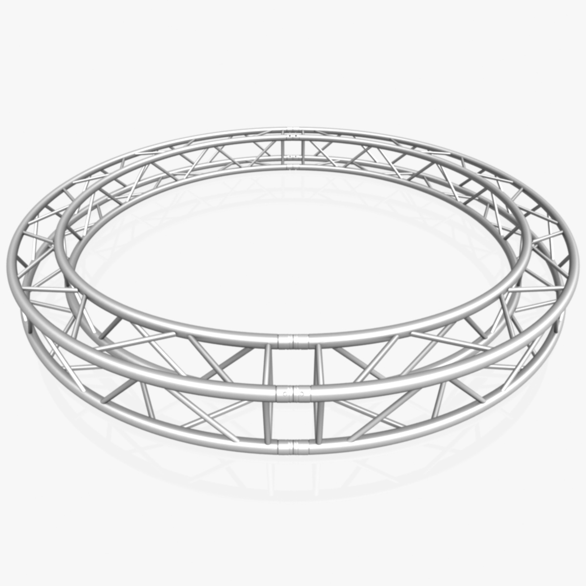 circle square truss (full diameter 300cm) 3d model 3ds max dxf fbx c4d dae  obj 252373