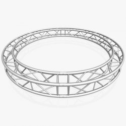 Circle Square Truss (Full diameter 300cm) 3d model 3ds max dxf fbx c4d dae  obj
