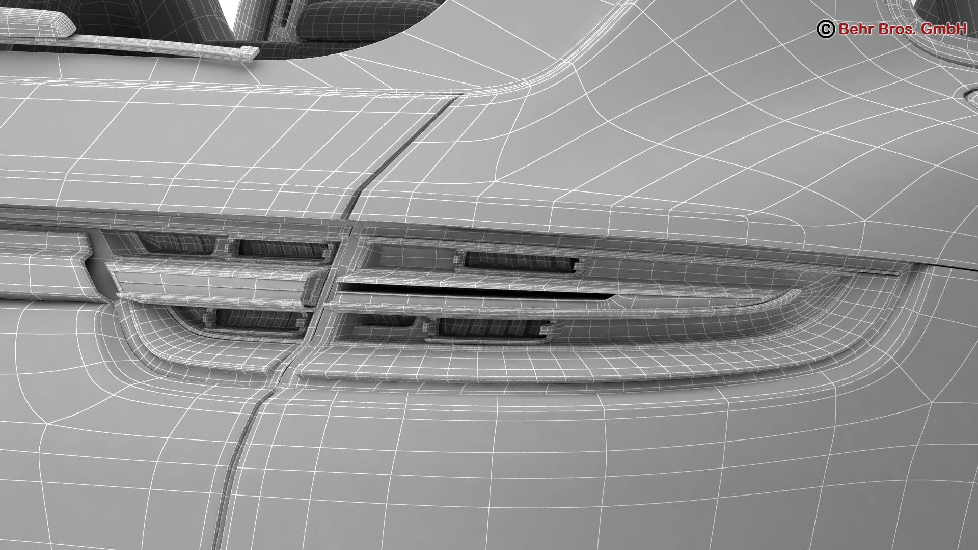 porsche panamera sport turismo turbo 2018 3d model 3ds max fbx c4d lwo ma mb obj 252523