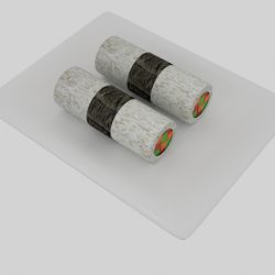 Cylinder Sushi Nori Strip  ( 94.33KB jpg by banism24 )