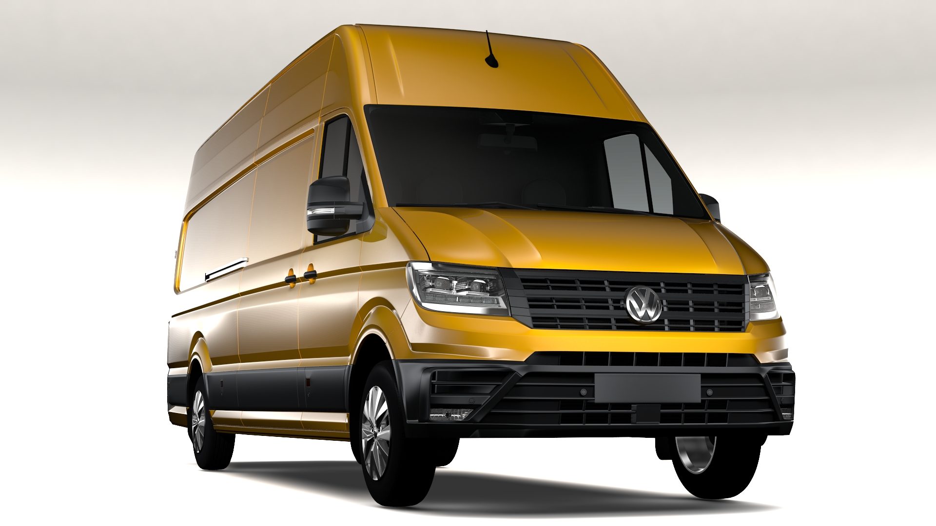 wv crafter van l4h3 2017 3d model 3ds max fbx c4d