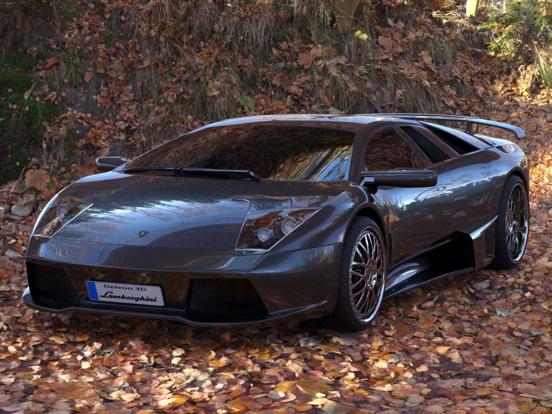 lamborghini murcielago car 3d model max fbx jpeg jpg lxo  obj 252774