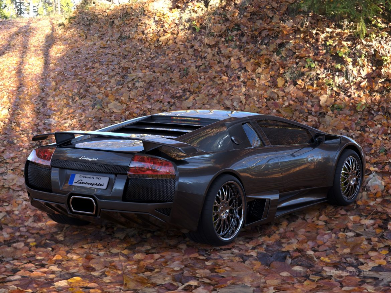 lamborghini murcielago car 3d model max fbx jpeg jpg lxo  obj 252775