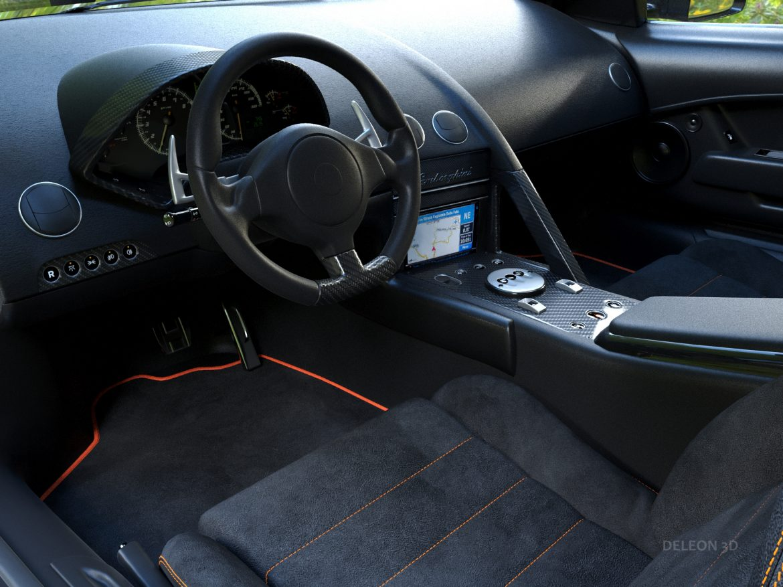 lamborghini murcielago car 3d model max fbx jpeg jpg lxo  obj 252780