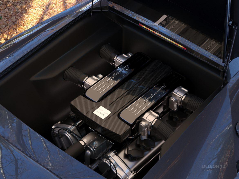 lamborghini murcielago car 3d model max fbx jpeg jpg lxo  obj 252781