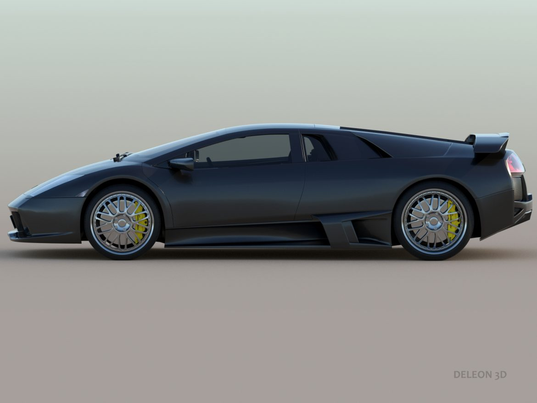 lamborghini murcielago car 3d model max fbx jpeg jpg lxo  obj 252784