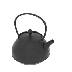 Japanese Art Teapot 3d model blend