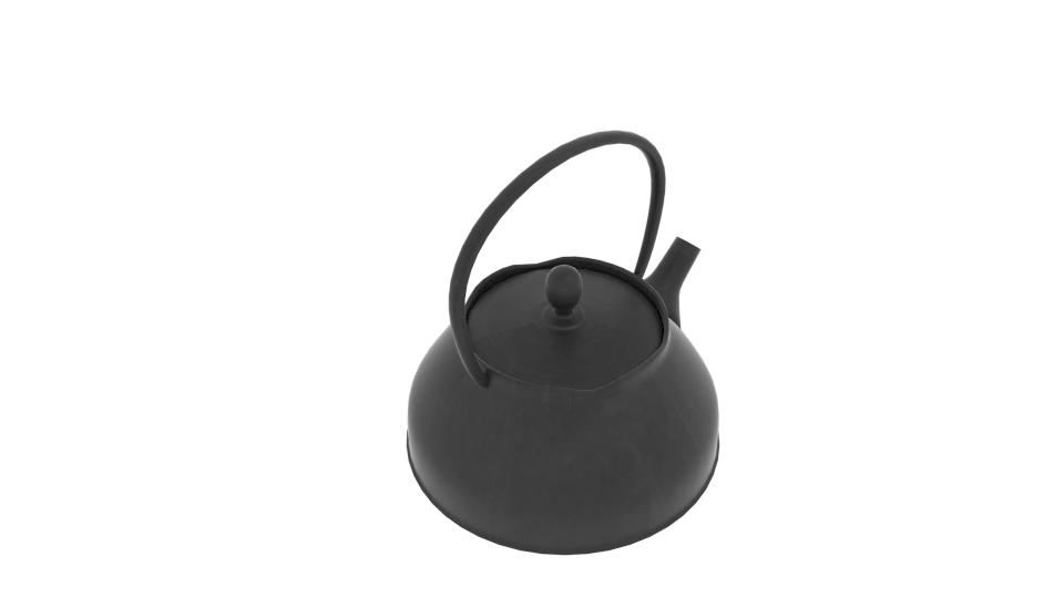 japanese art teapot 3d model blend 252792