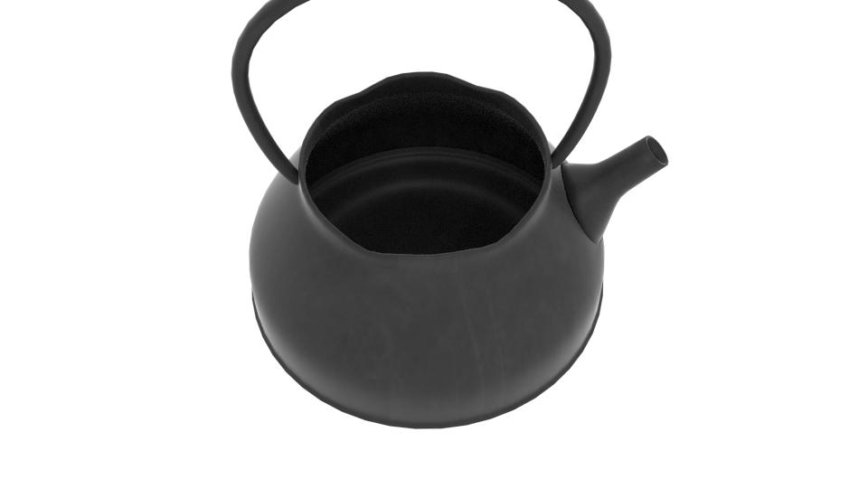 japanese art teapot 3d model blend 252793