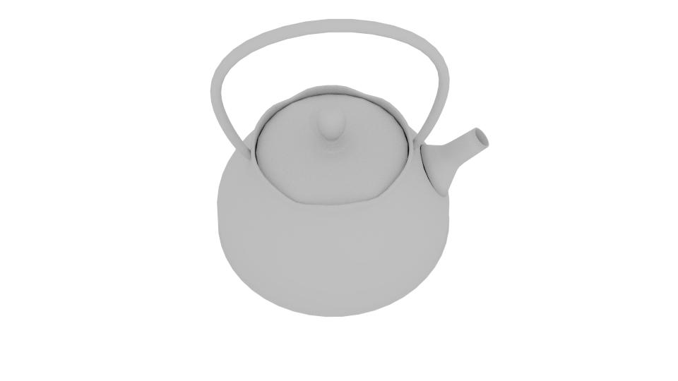 japanese art teapot 3d model blend 252794