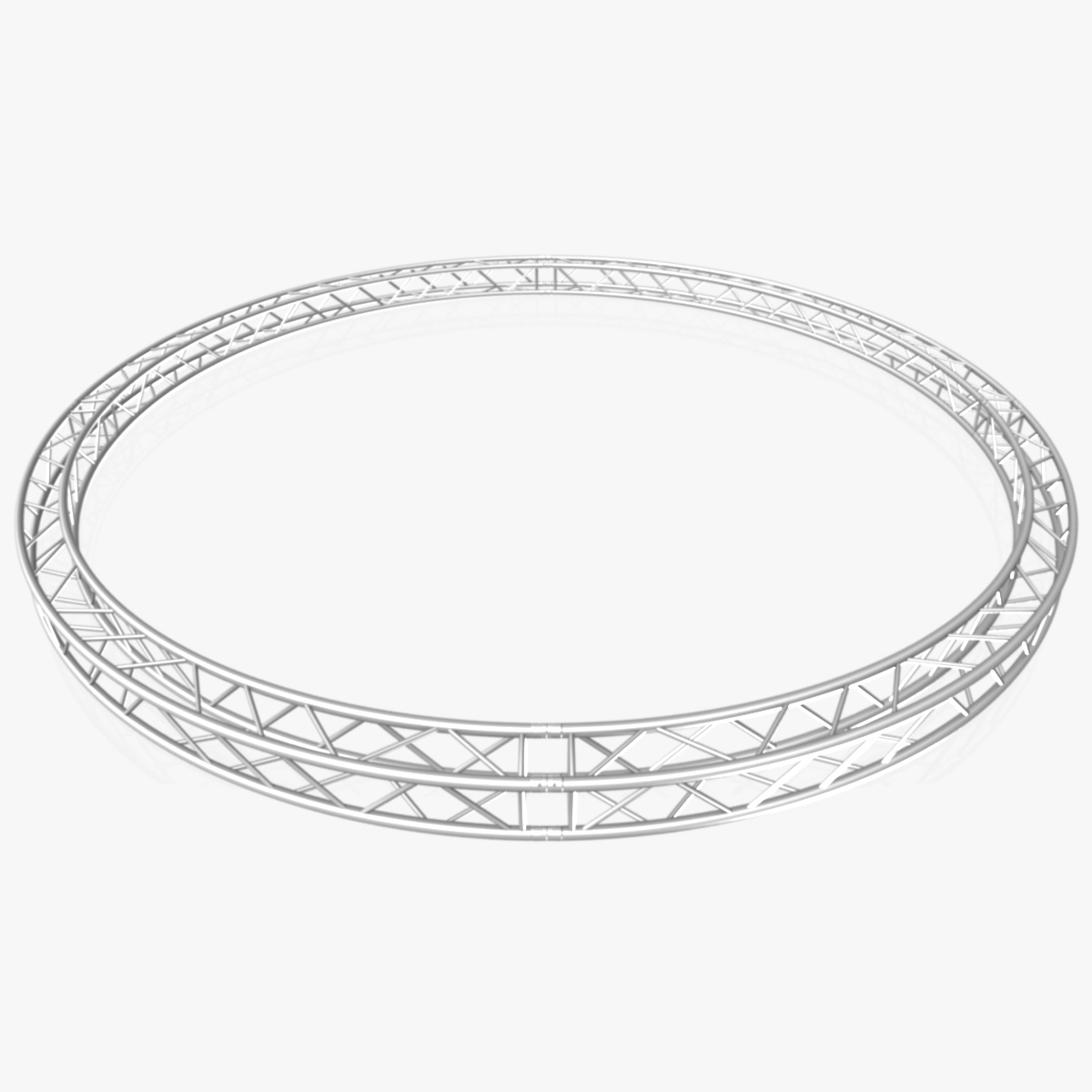 circle square truss (full diameter 600cm) 3d model 3ds max dxf fbx c4d dae  obj 253094