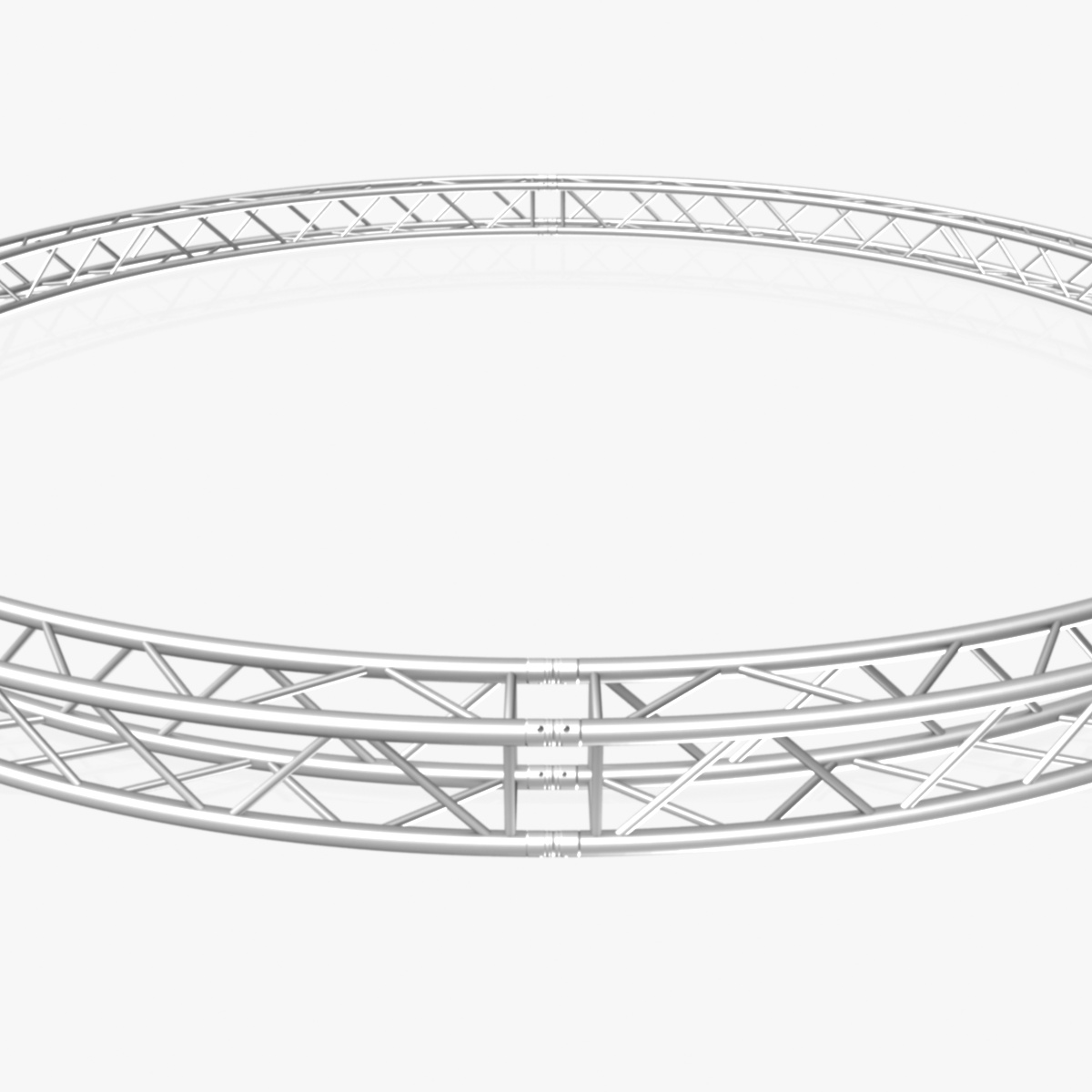 circle square truss (full diameter 600cm) 3d model 3ds max dxf fbx c4d dae  obj 253097