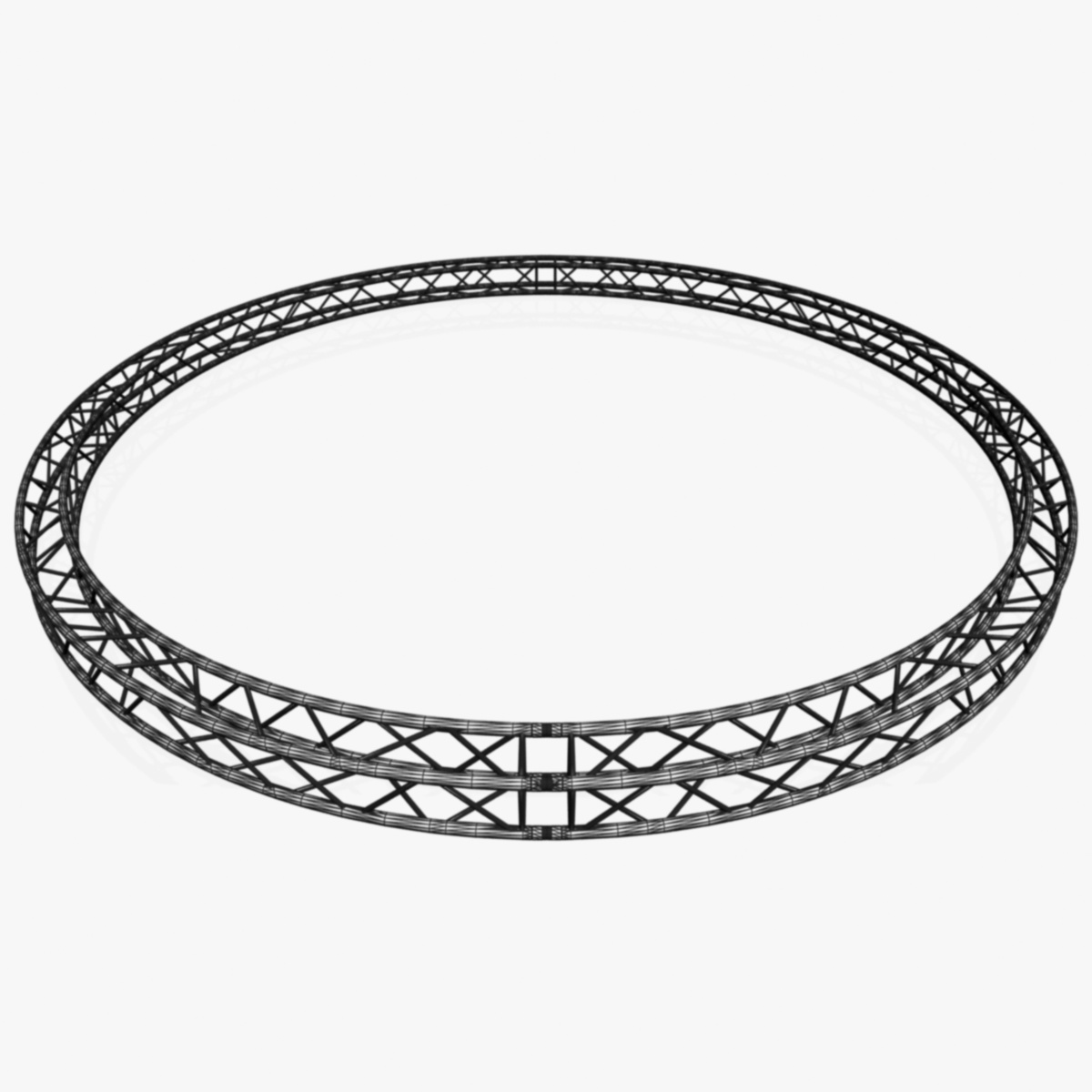 circle square truss (full diameter 600cm) 3d model 3ds max dxf fbx c4d dae  obj 253105