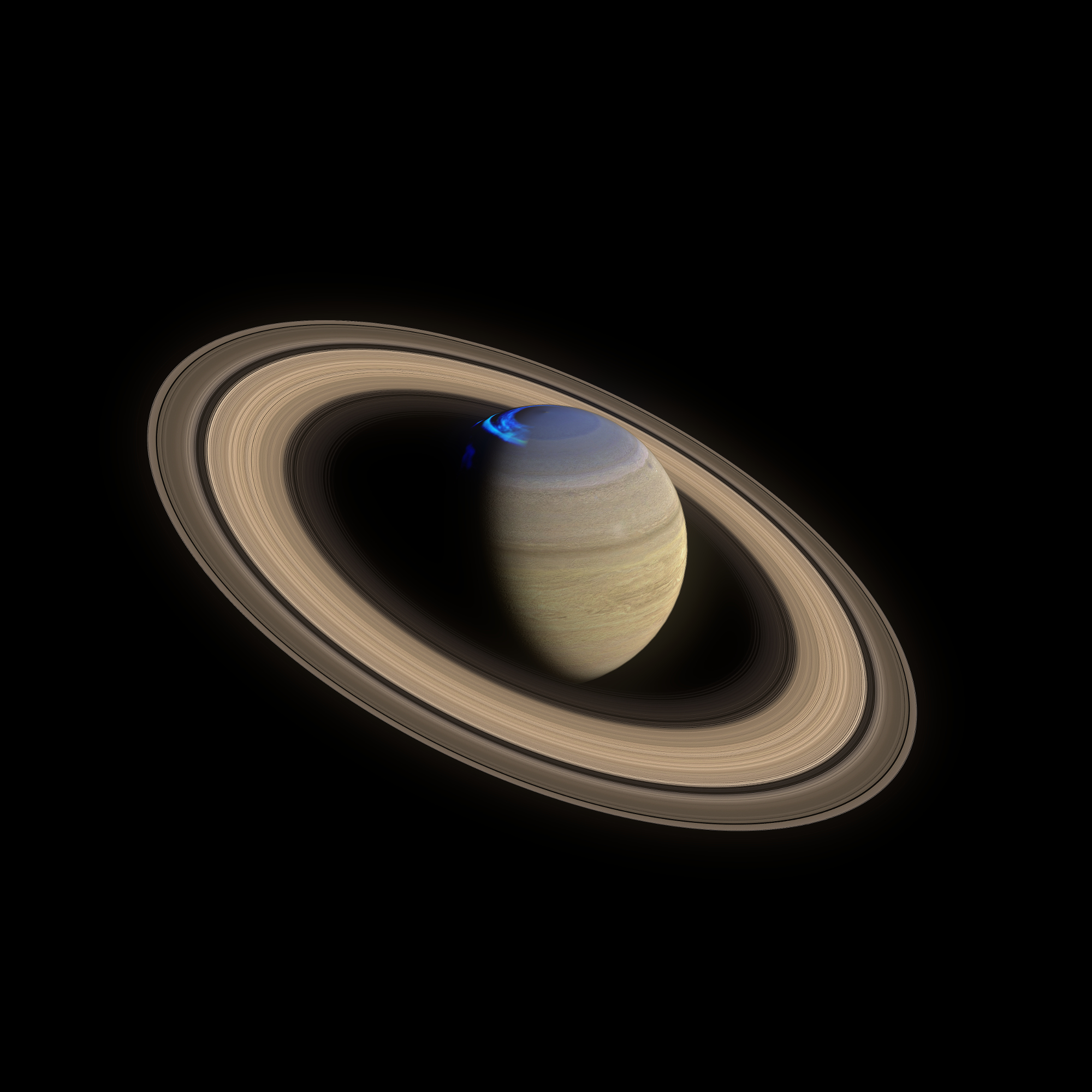 Saturn 4k 3d model obj fbx 3ds da 263338
