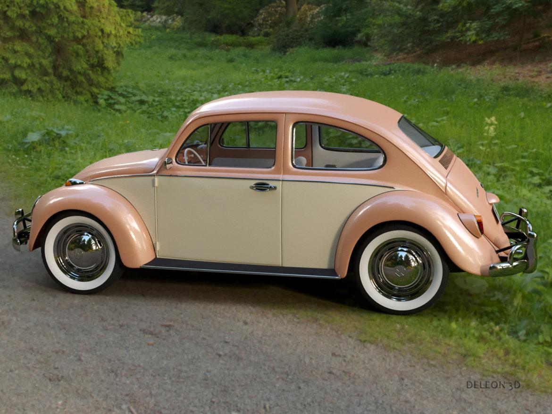 volkswagen beetle fusca 1969 3d model max c4d lxo ma mb  texture obj 263371