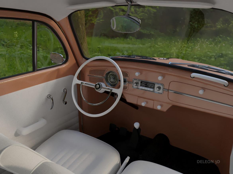 volkswagen beetle fusca 1969 3d model max c4d lxo ma mb  texture obj 263373