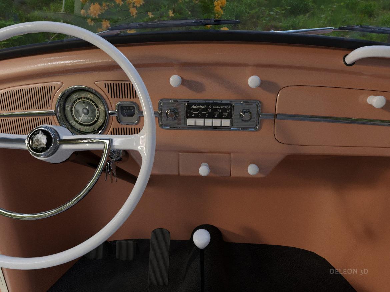 volkswagen beetle fusca 1969 3d model max c4d lxo ma mb  texture obj 263374