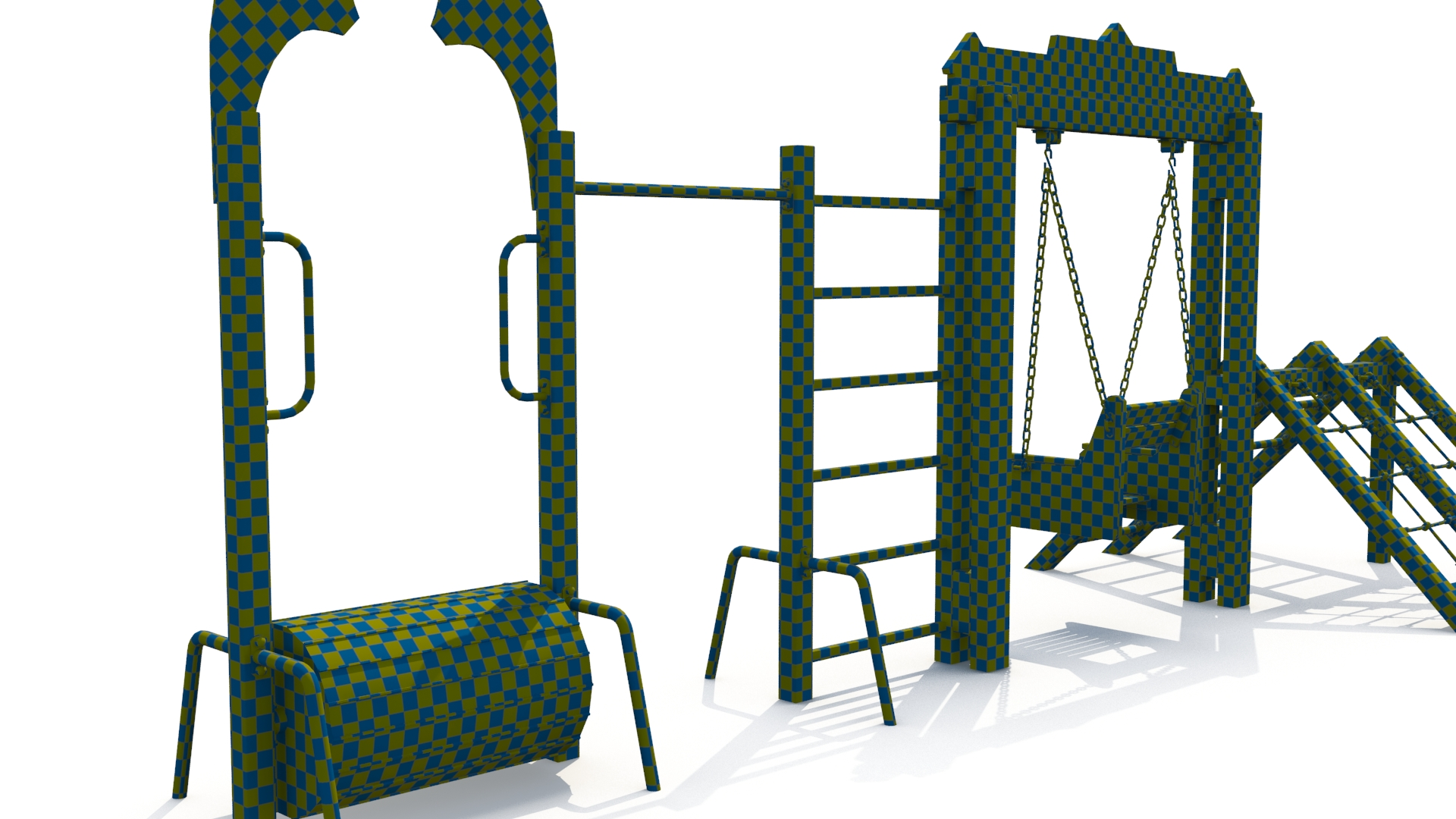 childrens sports complex 3d model 3ds max fbx obj 263439