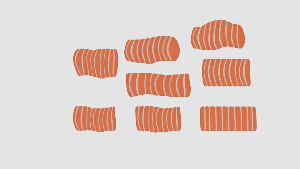 salmon pack 3d model blend 263497