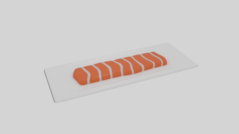 salmon fillet 3d model blend 263506