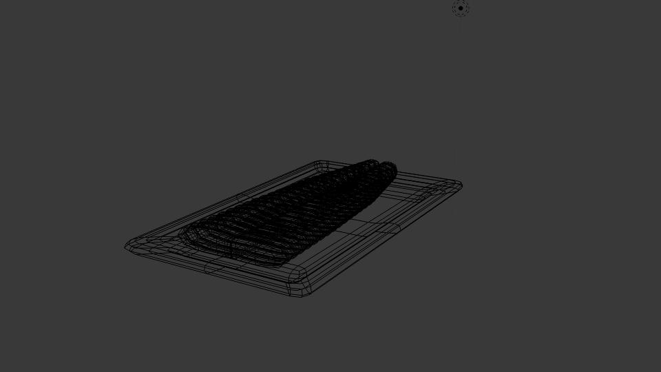 dory fillet 3d model blend 263543