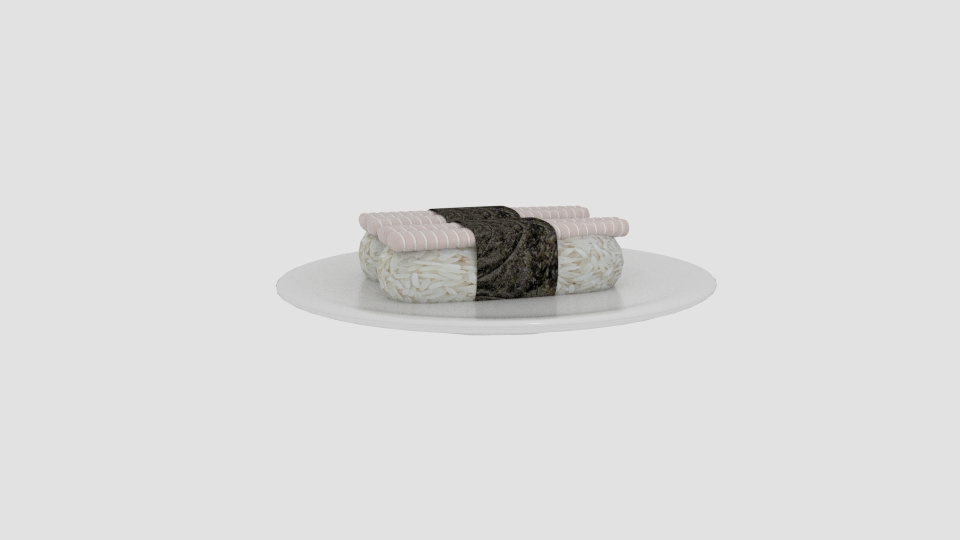 dory sushi 3d model blend 263548