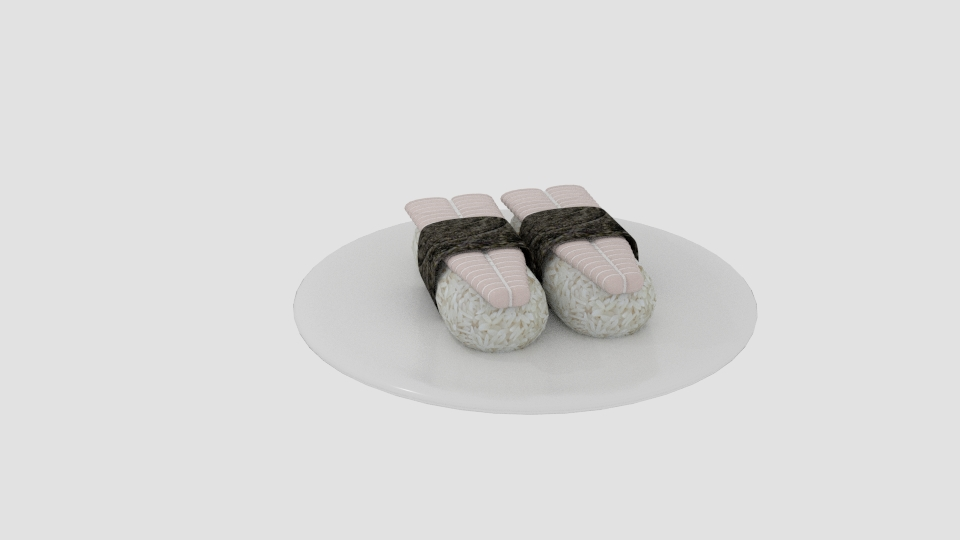 dory sushi 3d model blend 263549