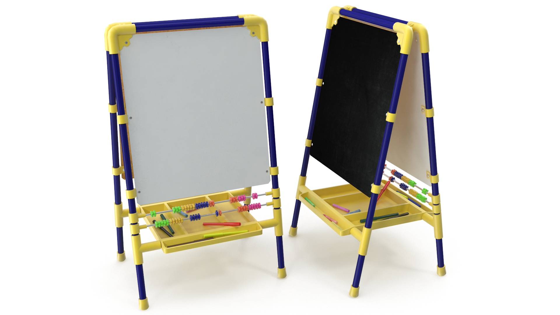 childrens drawing board 3d model 3ds max fbx obj 263602