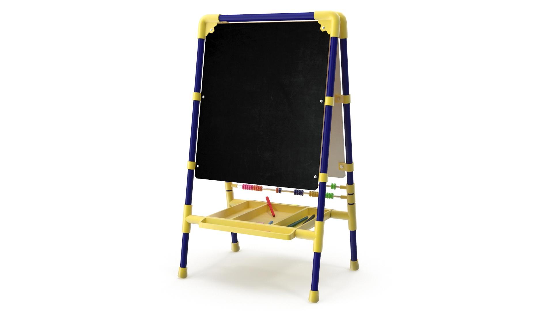 childrens drawing board 3d model 3ds max fbx obj 263604