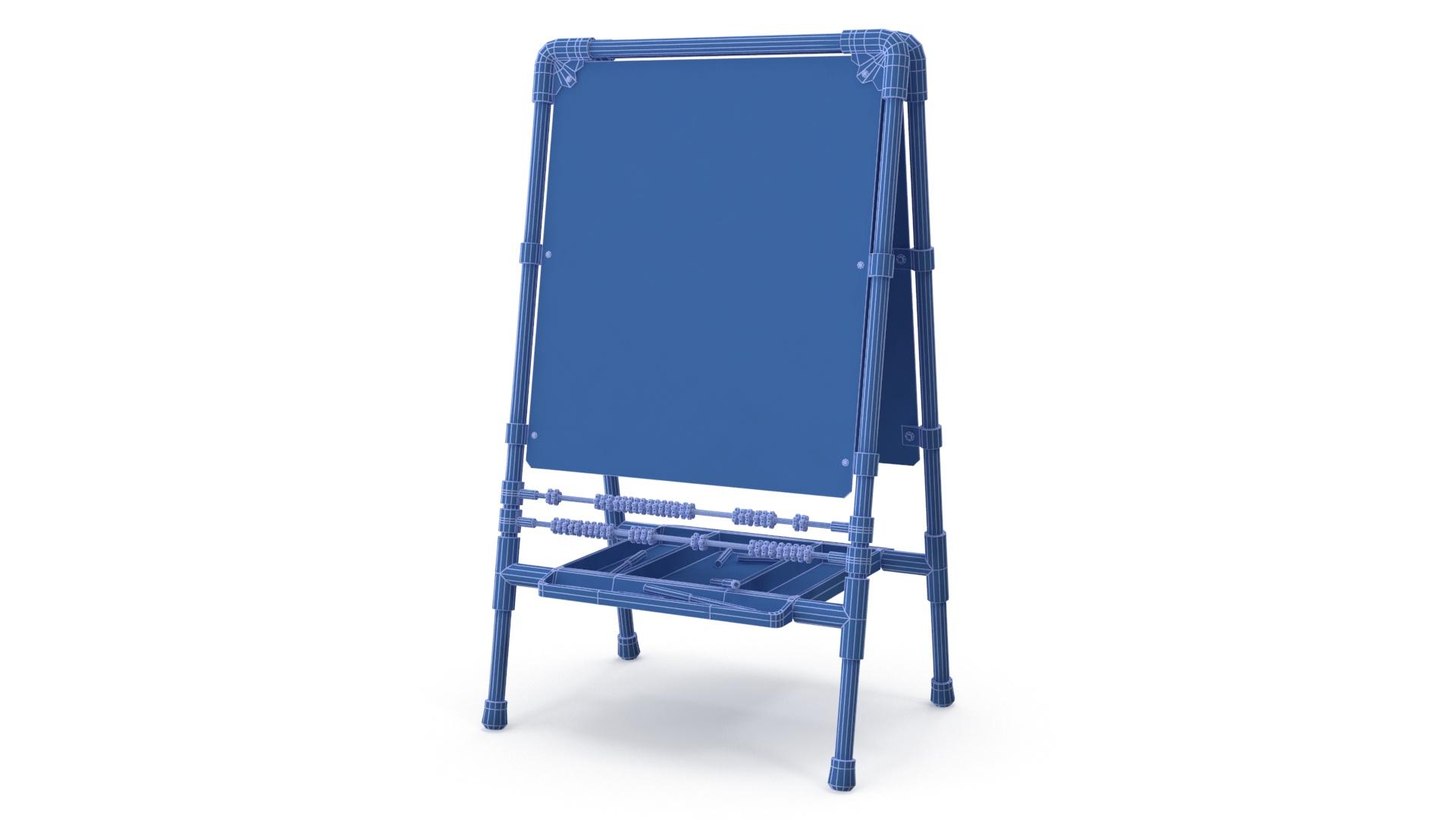 childrens drawing board 3d model 3ds max fbx obj 263607