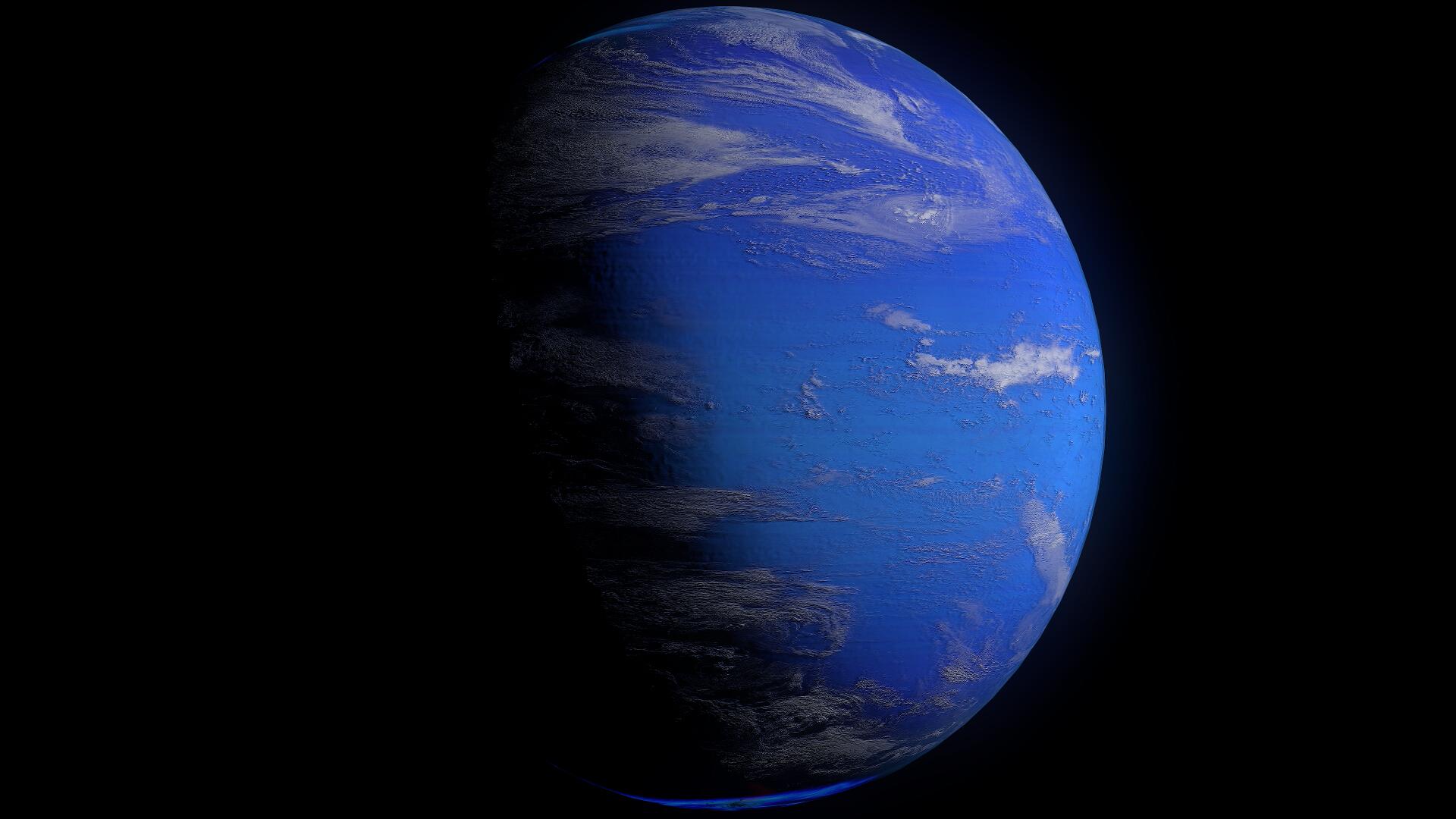 Neptune 2k 3d model  263760