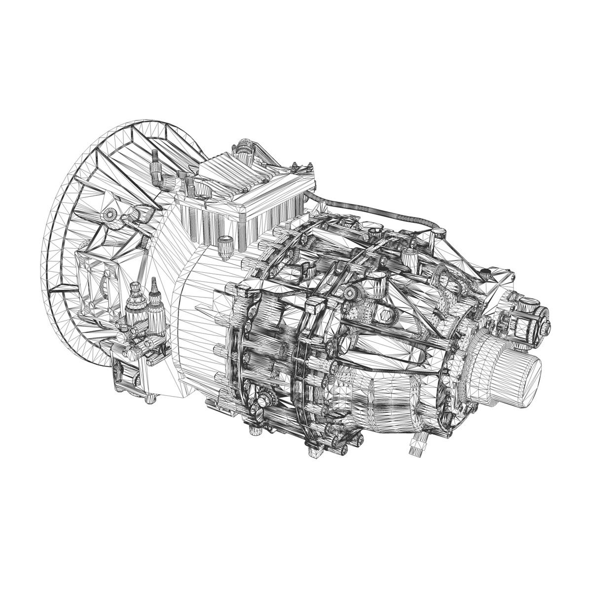 transmission 3d model 3ds c4d lwo obj 263910